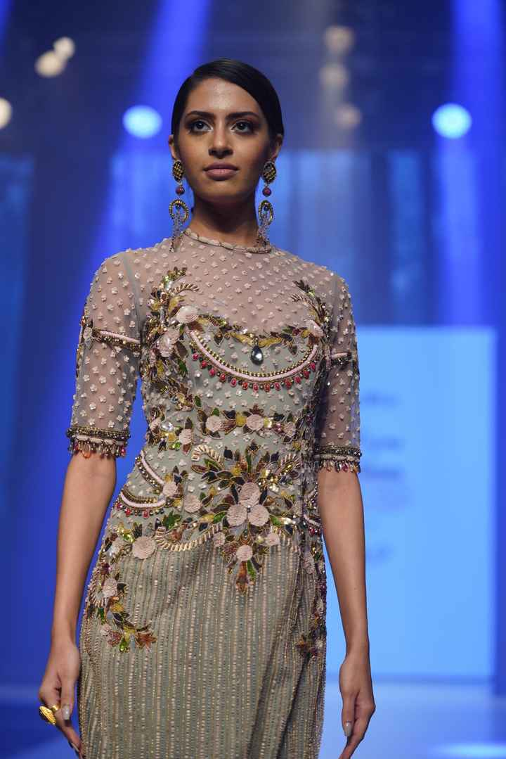 Latest Collection Unveiled by Designer Rocky S. at Delhi Times Fashion Week - 1