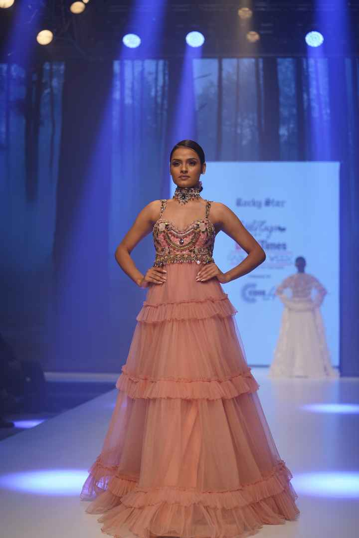 Latest Collection Unveiled by Designer Rocky S. at Delhi Times Fashion Week - 2