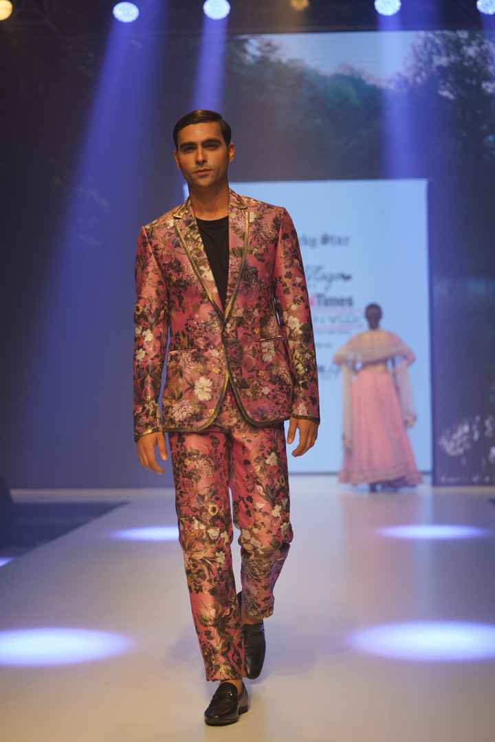 Latest Collection Unveiled by Designer Rocky S. at Delhi Times Fashion Week - 3