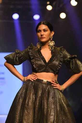 Latest Collection Unveiled by Designer Rocky S. at Delhi Times Fashion Week - 5