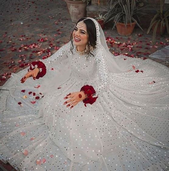 Who said brides cannot wear white and nail it too? 1