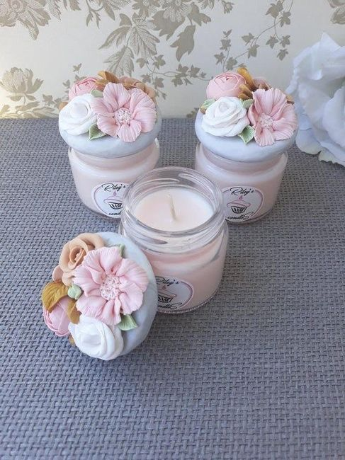 Candle jar with wedding invite? Is it a good idea? - 2