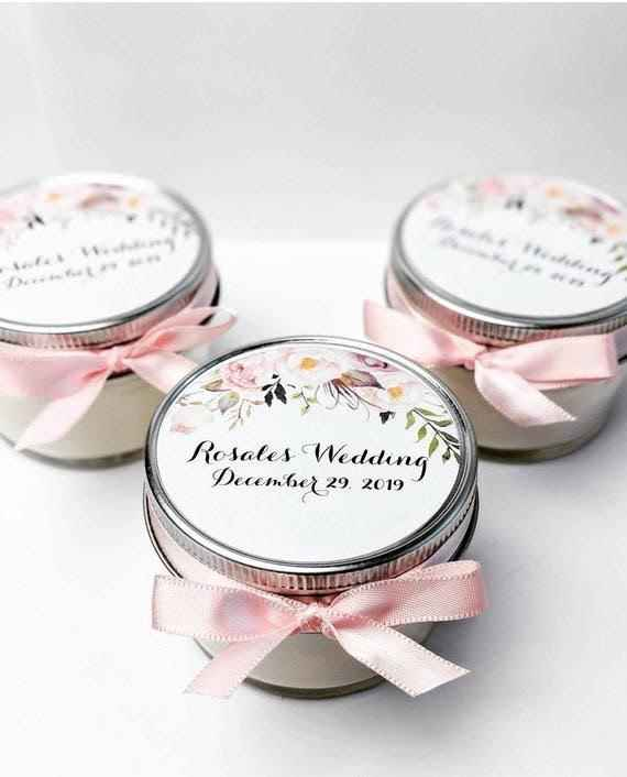 Candle jar with wedding invite? Is it a good idea? - 1