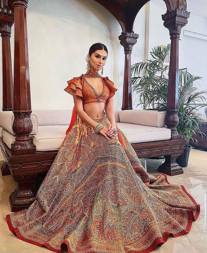 To all the brides, looking for a contemporary lehenga design! - 1
