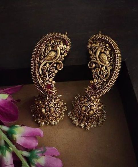 Temple Jewellery Earcuffs 1