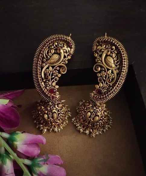 Temple Jewellery Earcuffs - 1