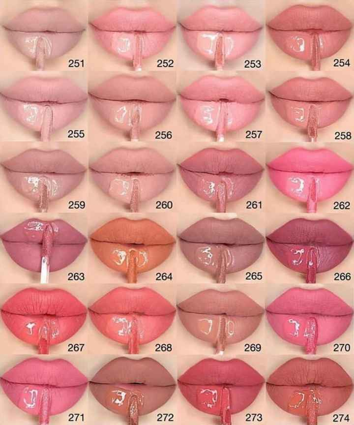 Which one is your every time favourite lipstick shade? - 1