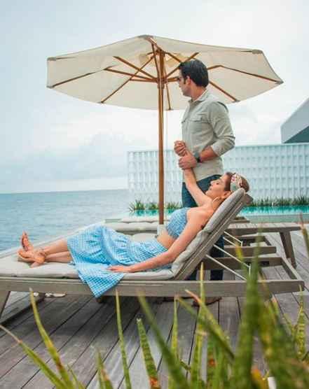 Kajal Aggarwal chilling at her honeymoon! - 1