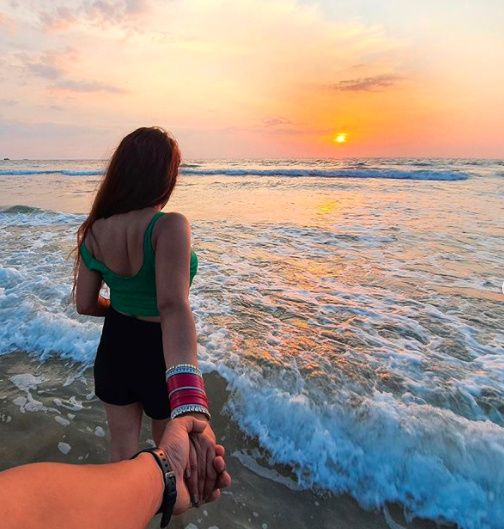 Watching Sunset With Bae!! - 1
