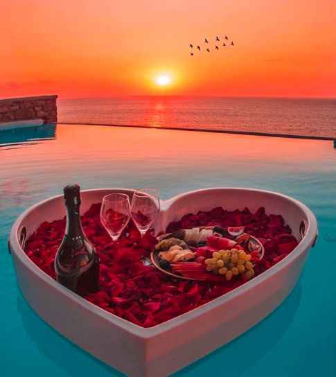 Enjoy sunset with a floating heart ❤️ - 1