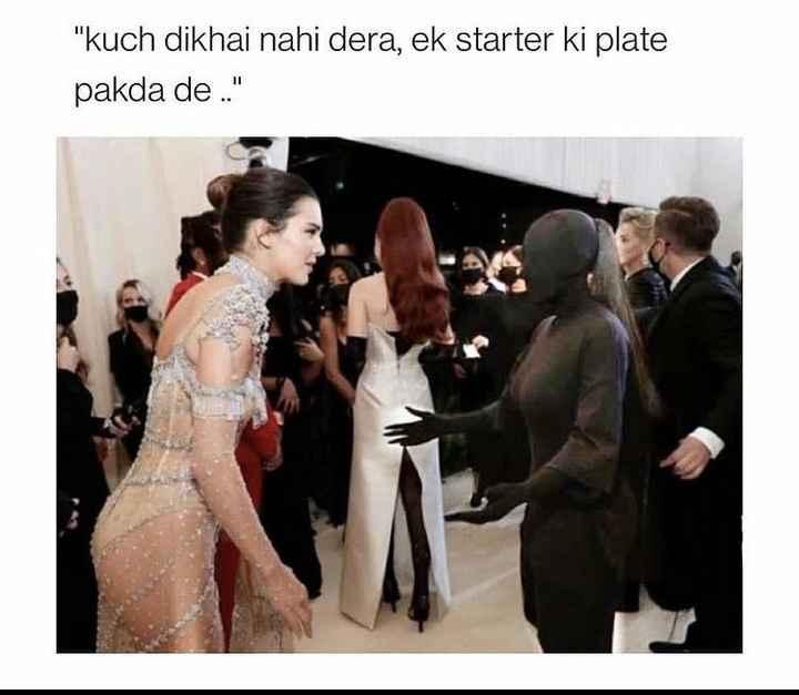 Kim Kardashian's Met Gala's meme is all over the internet! 😜 - 1