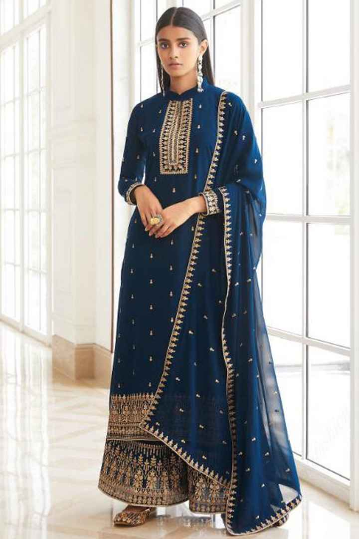 Suit for post wedding rituals - 1