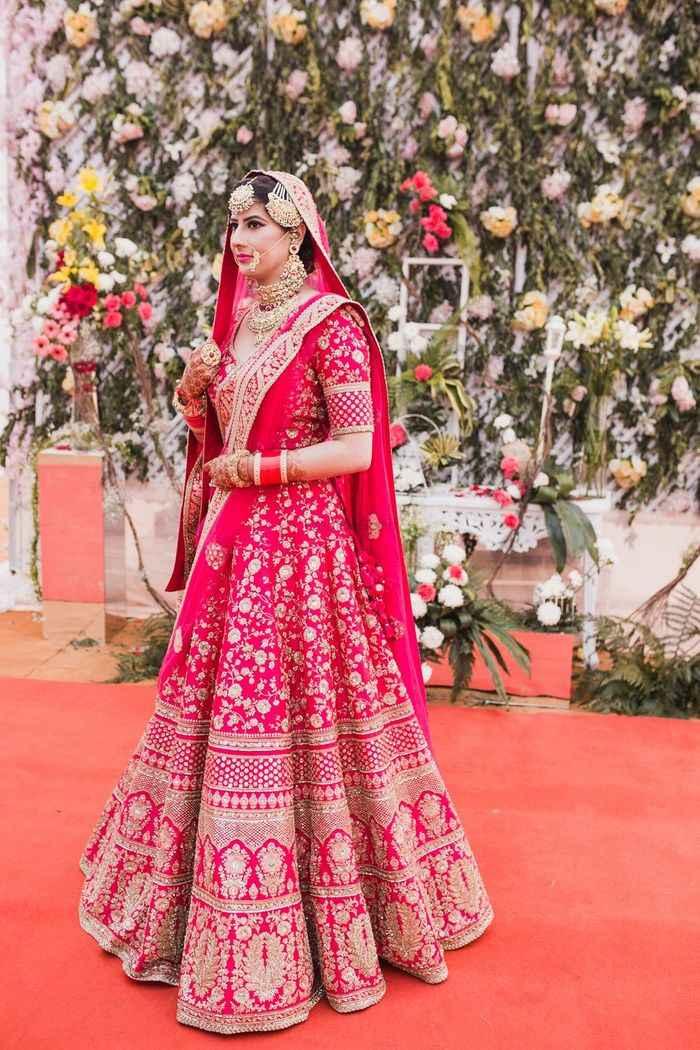 Lehenga designs for short brides - 1