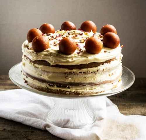Gulab jamun cake on wedding? - 1