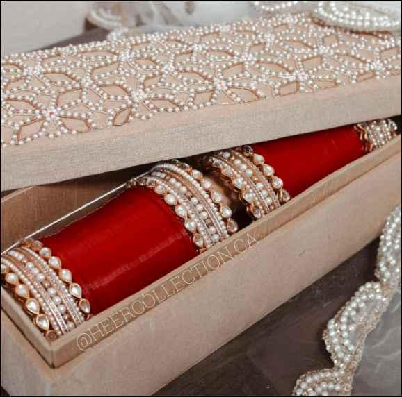 Red choora Designs! - 1