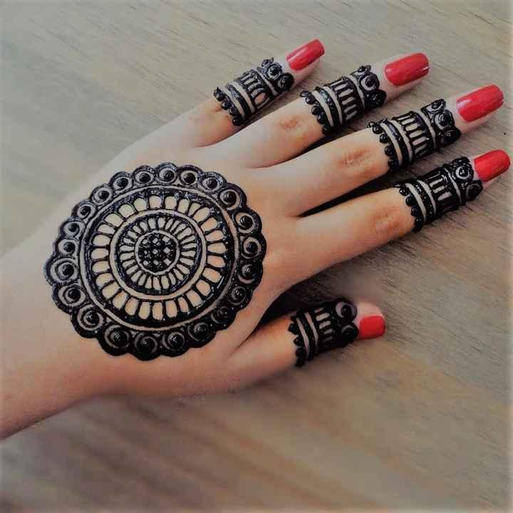 Finger Mehndi Designs! - 2