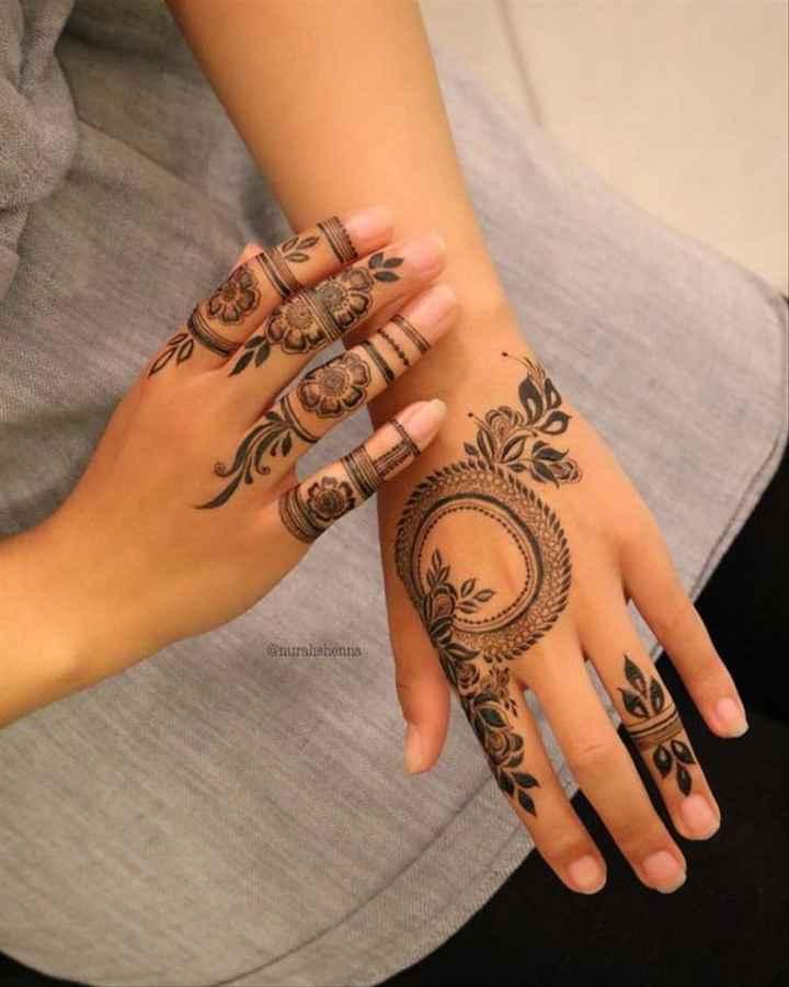 Finger Mehndi Designs! - 3