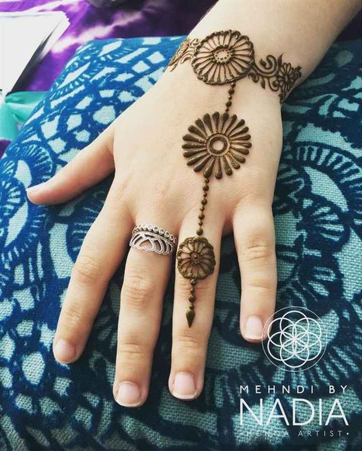 How do you like these short mehndi designs, guys? - 1