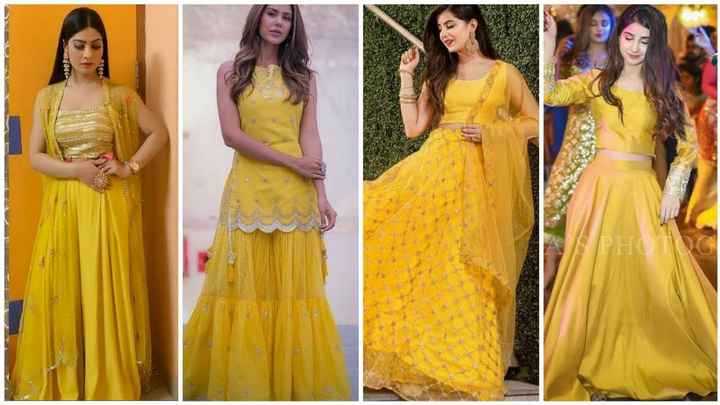 What is your haldi outfit going to look like? - 1