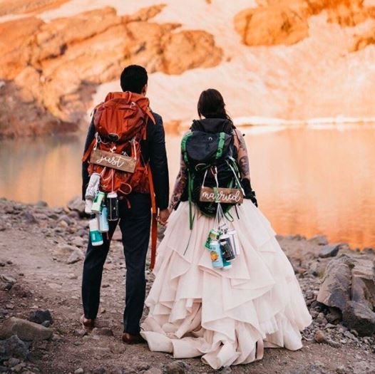 Newly married travel enthusiasts goals😍 - 1