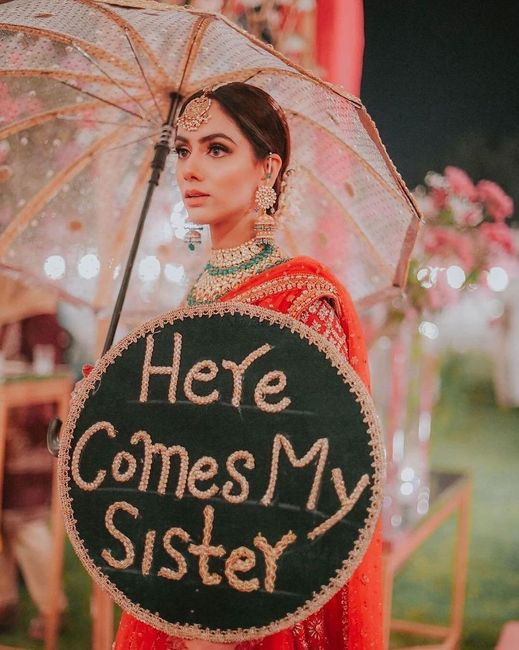When you are the sister of the bride! - 1