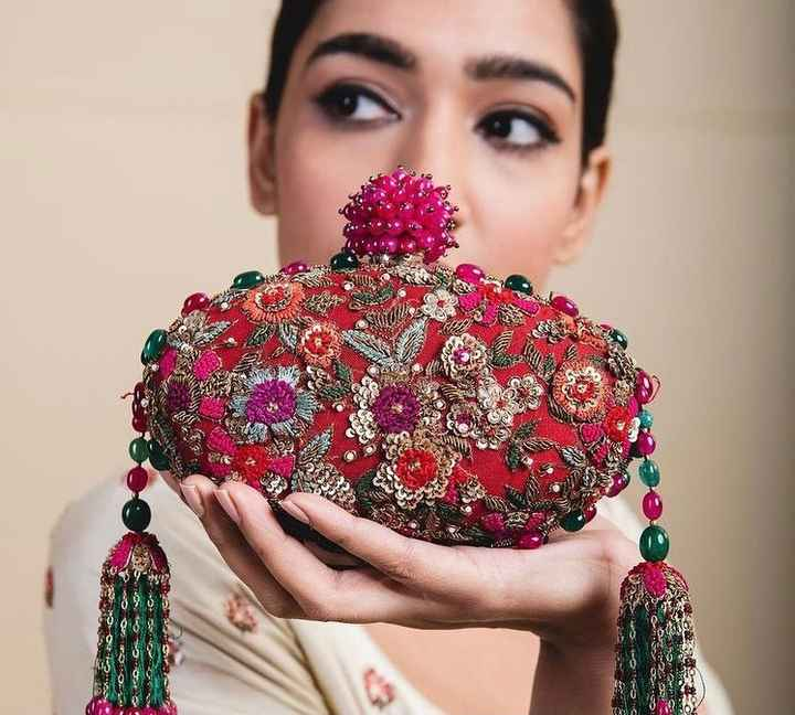This statement clutch is all you need to amp up your wedding wardrobe - 1