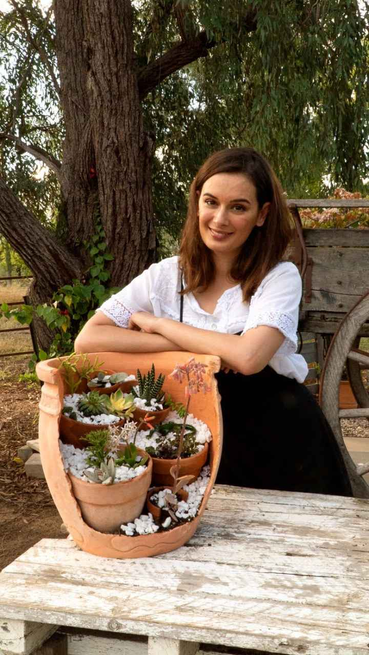 Evelyn Sharma brings a smile to our faces with her gardening pictures!! - 1