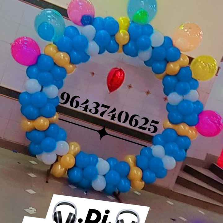 All type of balloon decoration🎀 - 2
