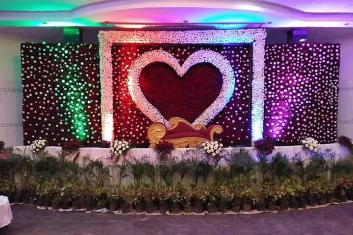Sri Ganesh Flower Decoration
