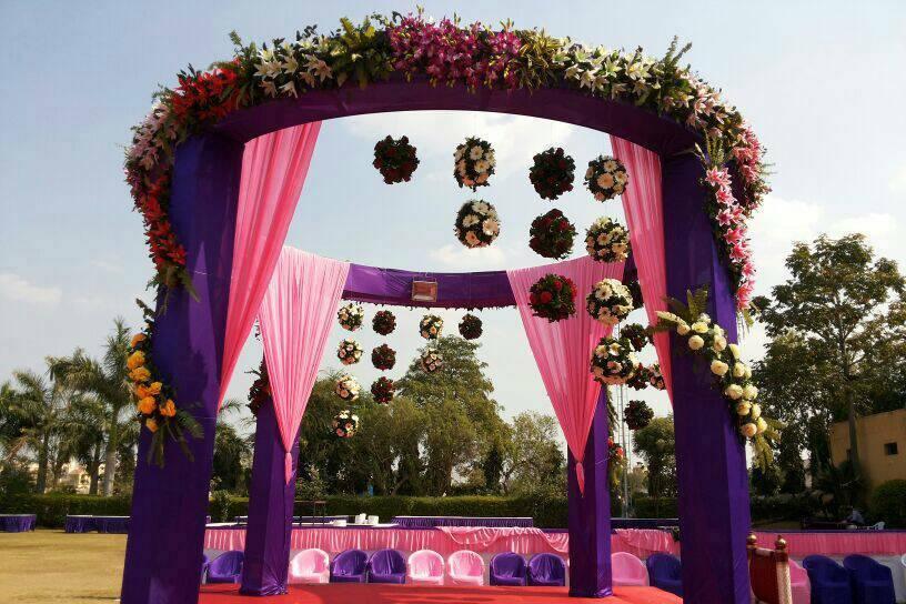 Ghanshyam Mandap Decoration