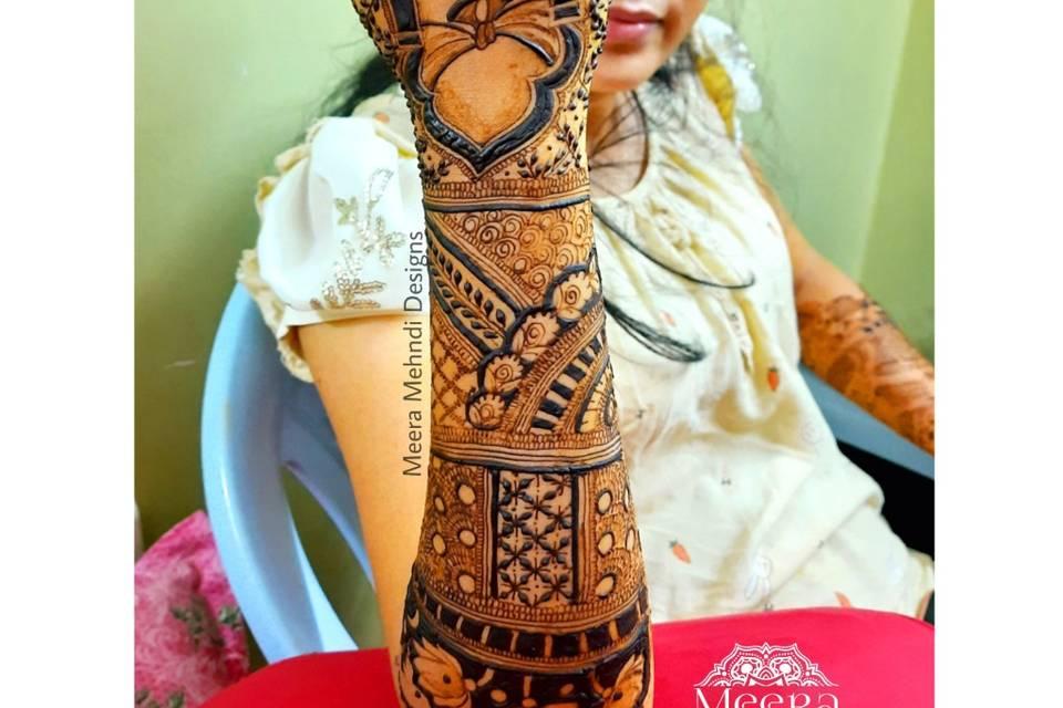 Meera Mehndi Designs