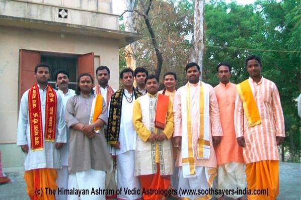 The Himalayan Ashram of Vedic Astrologers