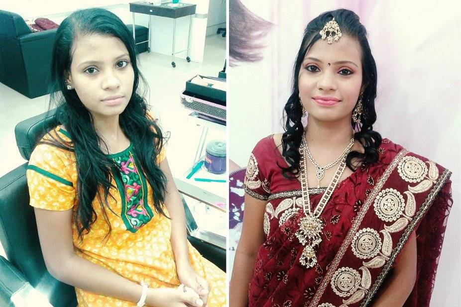 Green Trends Unisex Hair & Style Salon, Sitammadhara