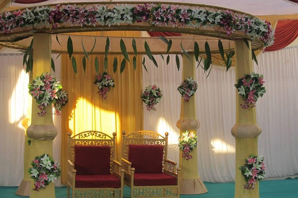 Nilkanth Mandap and Light Decoration