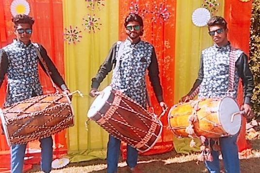 Haresh Dhol Player