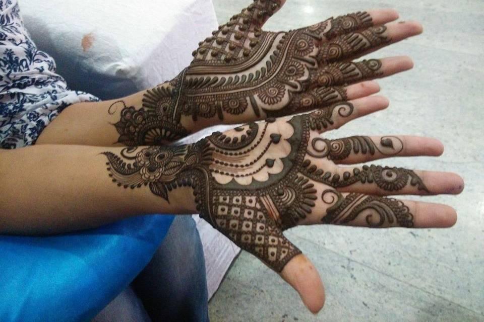 Kuldeep Mehandi Art, Patiala