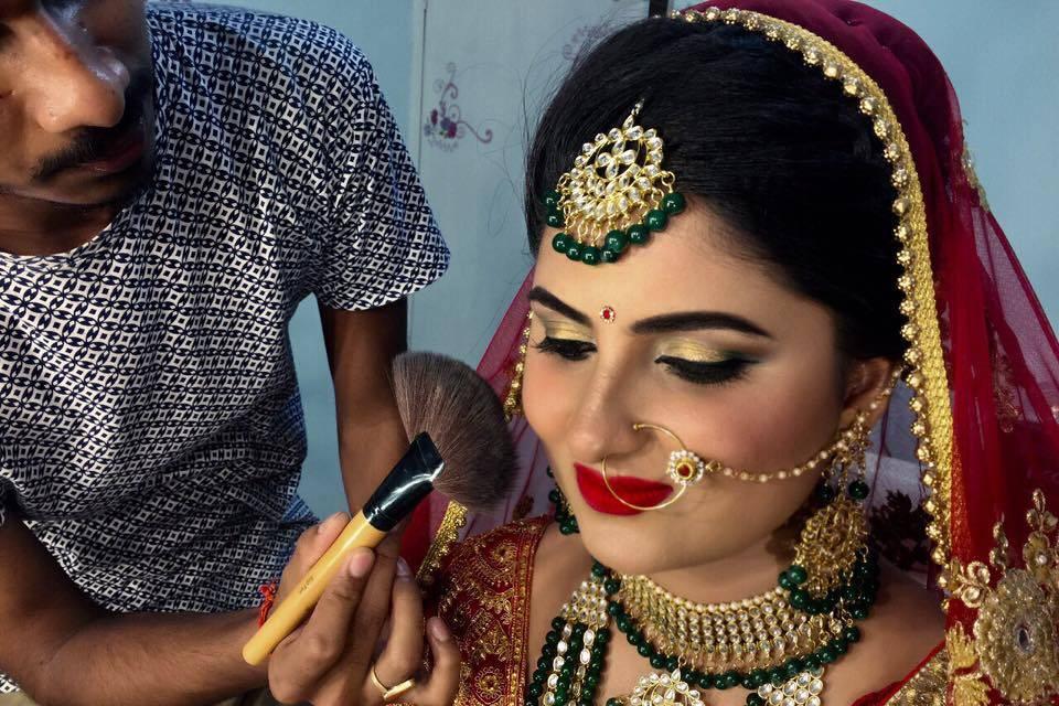 Makeup Artist Shweta Sahay