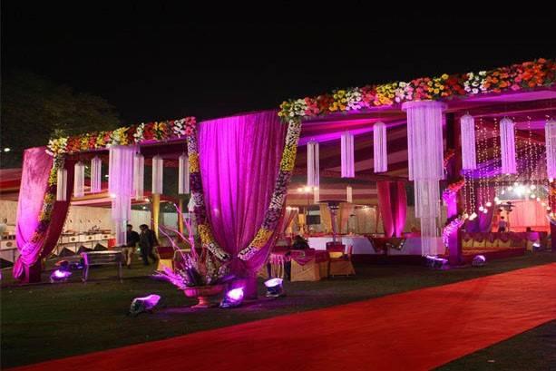 Singh Tent Decor