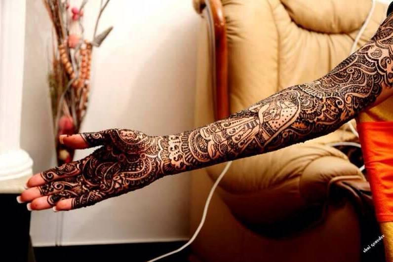 Mehndi Designs by Bhawna Taneja