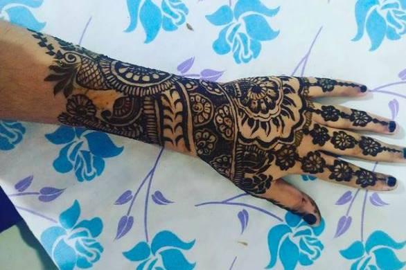 Henna Work By Shiwangi