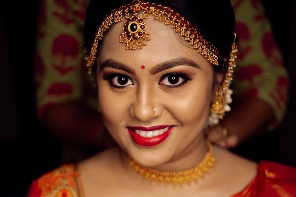 Makeup by Akshatha Prasad, Bangalore
