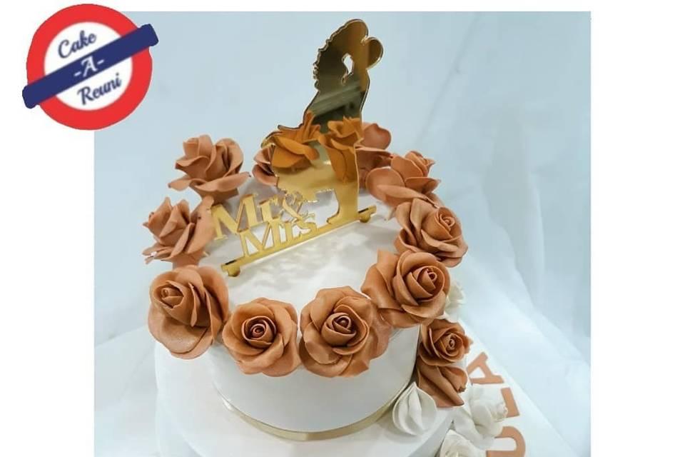 Cake A Reuni Wedding Cakes